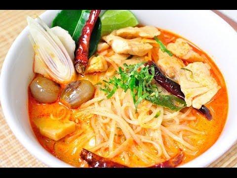 ก๋วยเตี๋ยวต้มยำน้ำข้นปลา Spicy Fish Noodle Soup