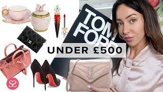 Best Designer Christmas Gifts UNDER £500 | Sophie Shohet