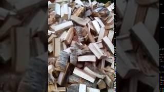 видео Как заготовить на зиму колотых дров?