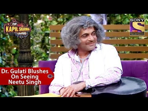 Dr. Gulati Blushes On Seeing Neetu Singh – The Kapil Sharma Show
