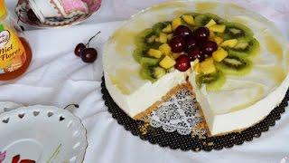 Tarta Mousse de Yogurt - Sin Horno - Mayte´s Sweet Factory