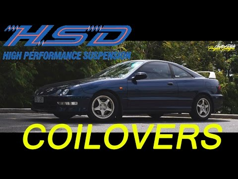 Integra HSD Coilovers -  Install and Review