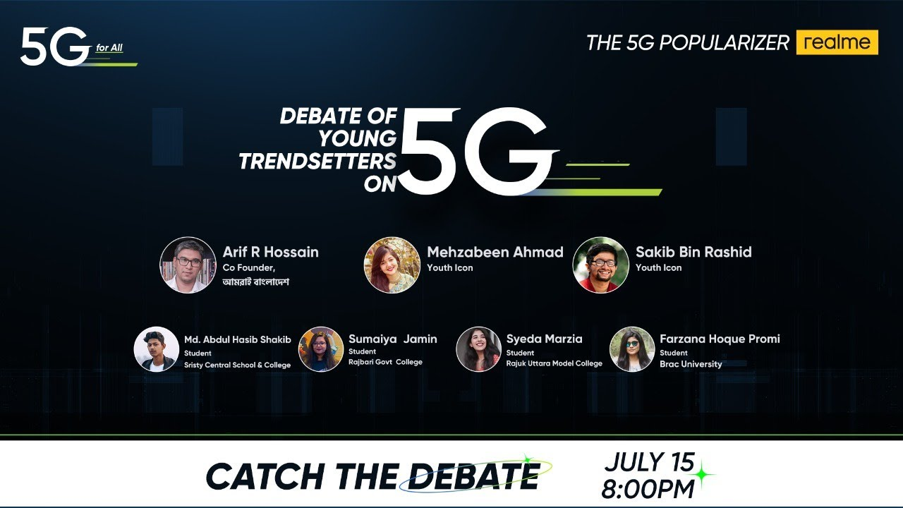 Debate of Young Trendsetters on 5G