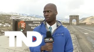 NBC Montana's Deion Broxton speaks about his bison encounter video that went viral.