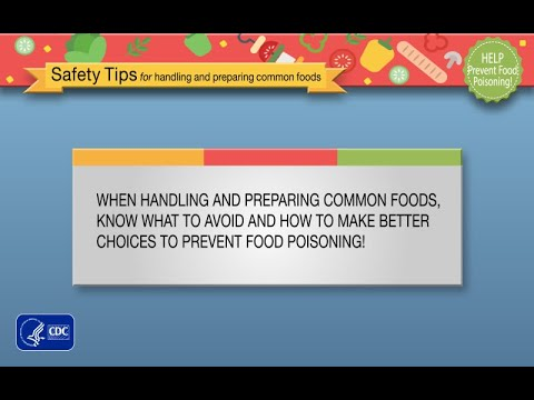Prevent Food Poisoning: Safety tips for handling and preparing common food