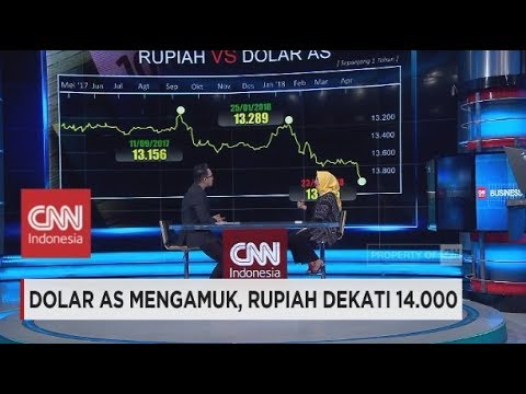 Dolar AS Mengamuk, Rupiah Dekati Rp 14.000