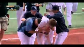 Rays walkoff wins 2013