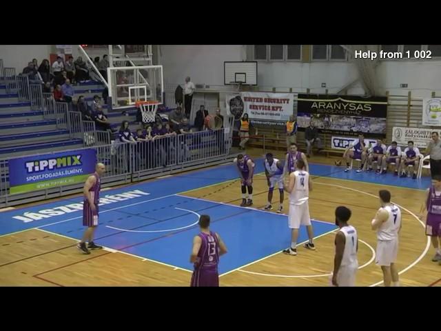 Kezdő5.hu - Andrija Bojic dunk!!!