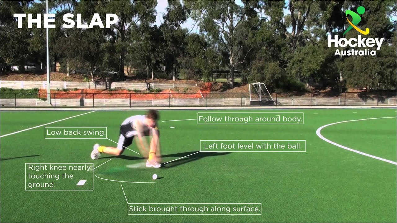 Hockey Australia Skill Video - Slap