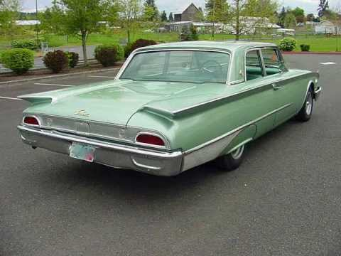 1960 ford galaxie 2 door sports sedan w only 2500 miles on. Black Bedroom Furniture Sets. Home Design Ideas