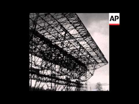 CAN 190 FOOTAGE OF THE NEW RADIO TELESCOPE IN NANCAY, FRANCE