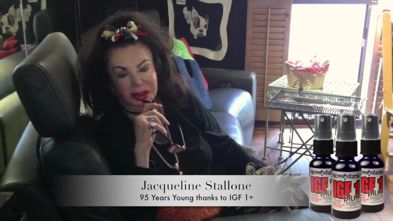 Jackie Stallone and IGF + - YouTube
