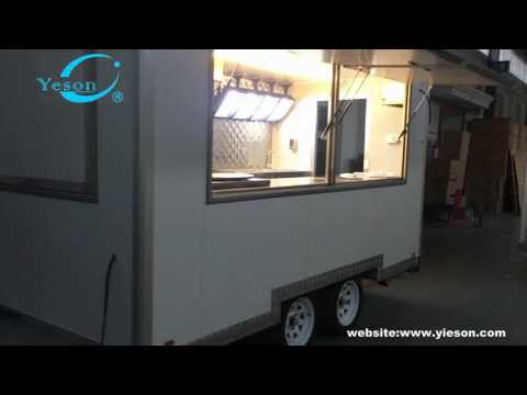Mobile Used Food catering trailers, Fast Food concession trailer