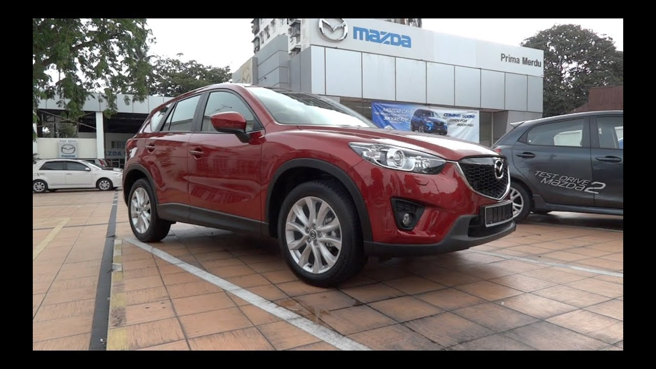 2012 mazda cx-5 2.0 skyactiv-g 2wd start-up and full vehicle tour