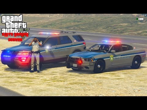 GTA 5 KUFFS Multiplayer Police Patrol #40 | Live Stream On The KUFFS Gaming Server