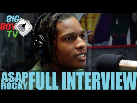 ASAP Rocky FULL INTERVIEW | BigBoyTV