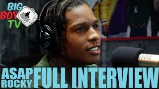 ASAP Rocky FULL INTERVIEW | BigBoyTV