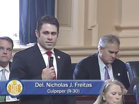 Delegate Freitas Speech Regarding SFC Martland