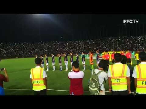 CNT vs Timor Leste - Friendly 29/05/16: National Anthem