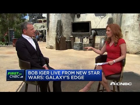 Disney CEO Bob Iger on new Star Wars Land, streaming service