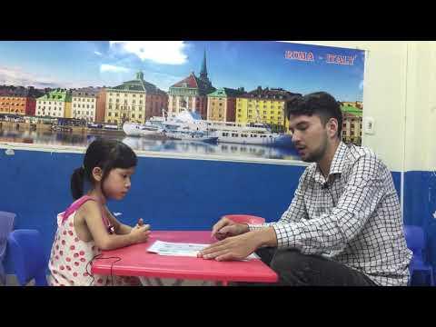 Thùy Trang T2B - Test speaking-Hệ thống Anh ngữ Quốc tế Nemo - Tiếng Anh trẻ em 4-15 tuổi.
