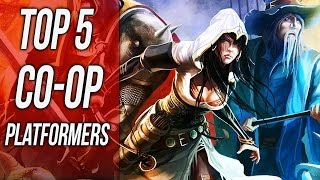 Top 5 Best Couch Co-op Platformers Steam (Rayman Legends, Guacamelee, Trine 2, Spelunky, Capsized)
