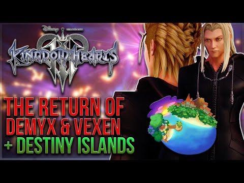 Kingdom Hearts 3 - The Return of Demyx & Vexen and Destiny Islands