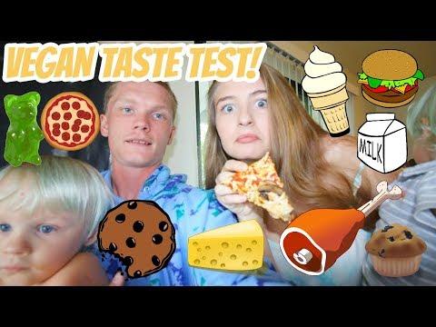 YOUNG FAMILY TRIES VEGAN JUNK FOOD!