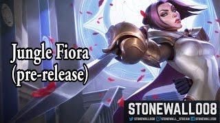 League of Legends - Jungle Fiora (pre-release)