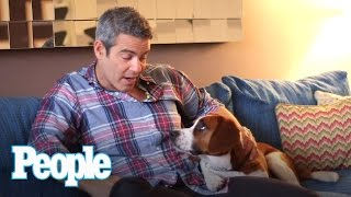 Andy Cohen's Dog Wacha Interviews Andy Cohen  | People
