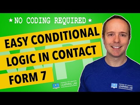 Contact Form 7 Conditional Fields Tutorial