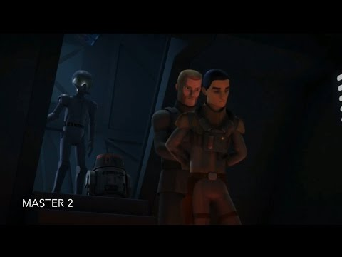 [Agent Kallus freed Ezra from prison] Star Wars Rebels Season 3 Episode 17 [HD]
