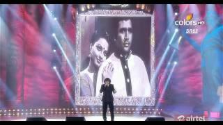 mirchi music awards 2013 rajesh khanna hit songs with sonu nigam