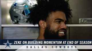 Ezekiel Elliott on Importance of Playing with Intensity | Dallas Cowboys 2018