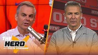 Urban Meyer believes Joe Burrow will win the Heisman, talks Clemson vs Ohio State | CFB | THE HERD