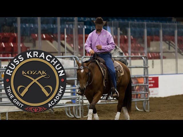 Round Pen Riding Methodology - True Grit Academy - Foundation Program – Level 4