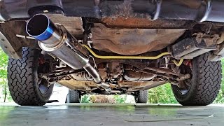 03 Subaru Forester, Built EJ251, UEL Header, Tsudo track pipe & Catback