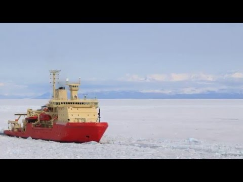 Colossal Antarctic ice shelf collapse followed last ice age