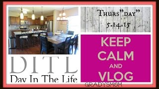 """VLOG: Thurs""""day"""" 5/14/15  My simple Mom Life, No frills :)"""