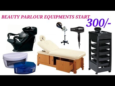 WHOLESALE BEAUTY PARLOUR CHAIRS,EQUIPMENTS & SALON CHAIRS IN DELHI //MANUFACTURER ONLY 300/-