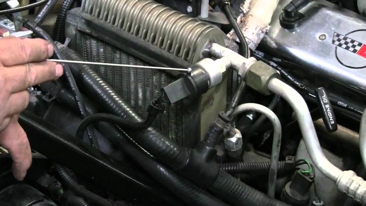Forced Air Wiring Diagram C4 Corvette Cutaway Ac Modules Youtube