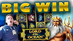 BIG WIN on Lord of the Ocean Slot - £20 Bet!