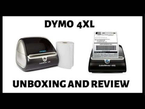 DYMO 4XL Unboxing and Review - DYMO Labelwriter 4xl Thermal Label Maker  Printer