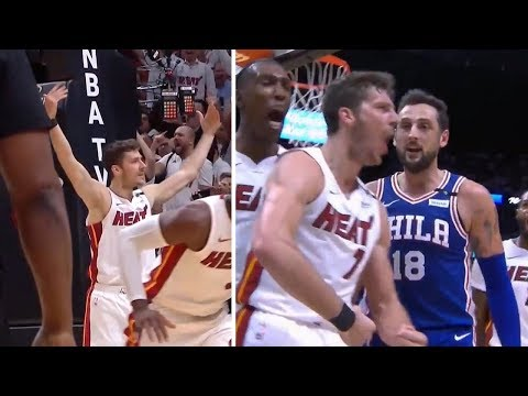 Goran Dragic TAUNTS Sixers, Especially Marco Belinelli | Two Crazy And-Ones