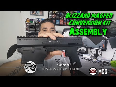 BLIZZARD MAGFED CONVERSION KIT Assembly