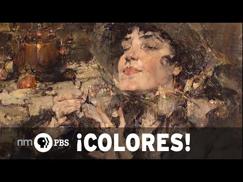 NMPBS ¡COLORES!: Nicolai Fechin