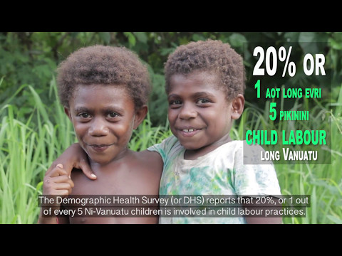 Vanuatu DHS: Nutrition, Labour and Child Descipline