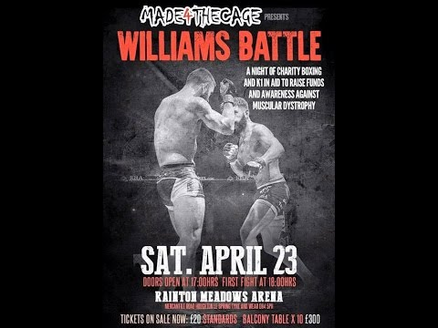 """Paul Grieves/ Made 4 the Cage """"WILLIAMS BATTLE"""""""