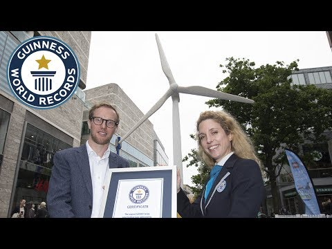 Largest LEGO® brick wind turbine - Guinness World Records