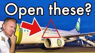 What happens if you OPEN the OVER-WING EXITS?